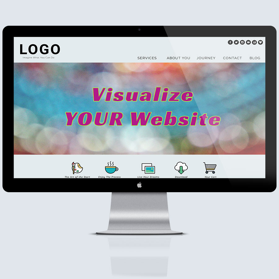 FLYING 'OKOLE WordPress websites image for Services page.