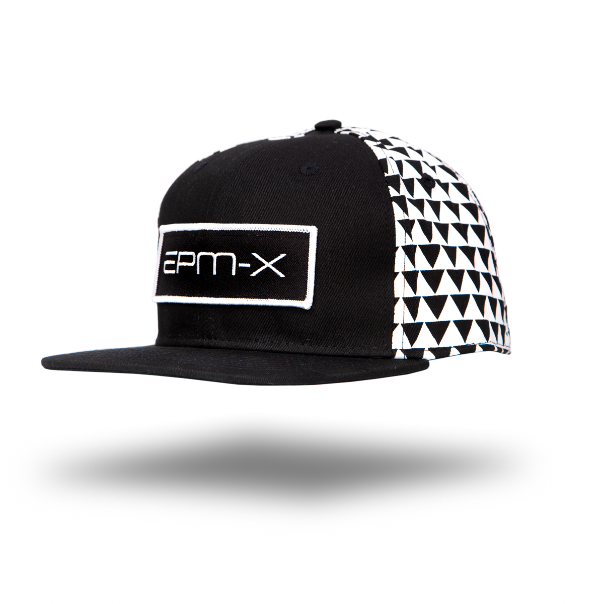 Eat Pray Maui's EPM-X Hat floating style with drop shadow - black