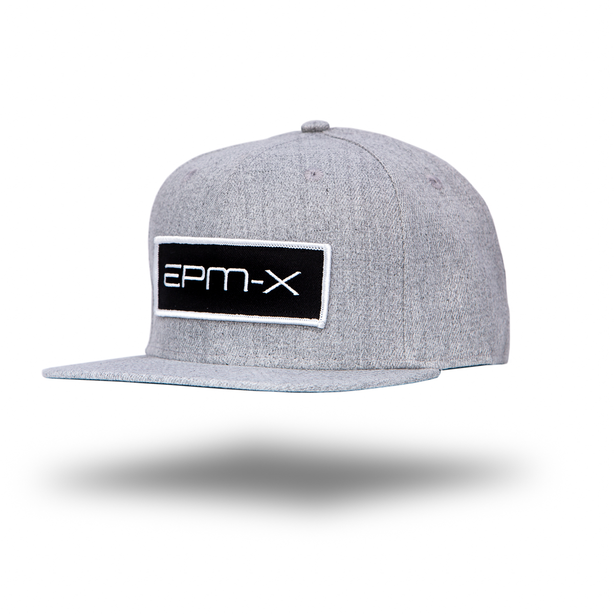 Eat Pray Maui's EPM-X Hat floating style with drop shadow - grey