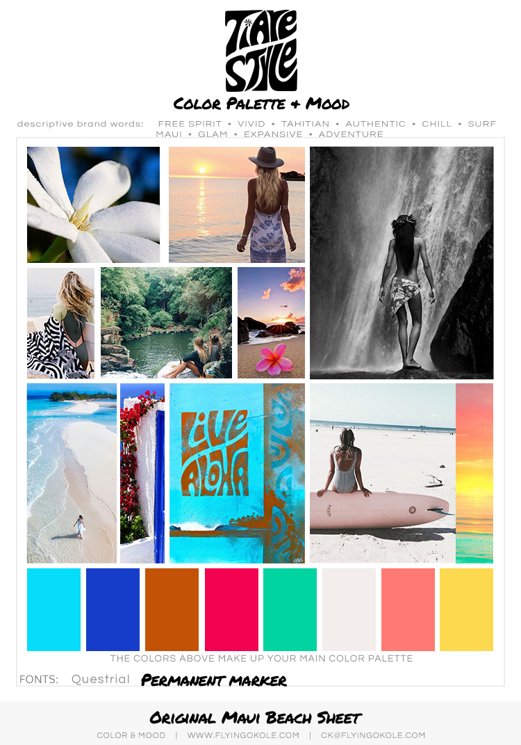 TIARE STYLE Inspiration Board by FLYING OKOLE